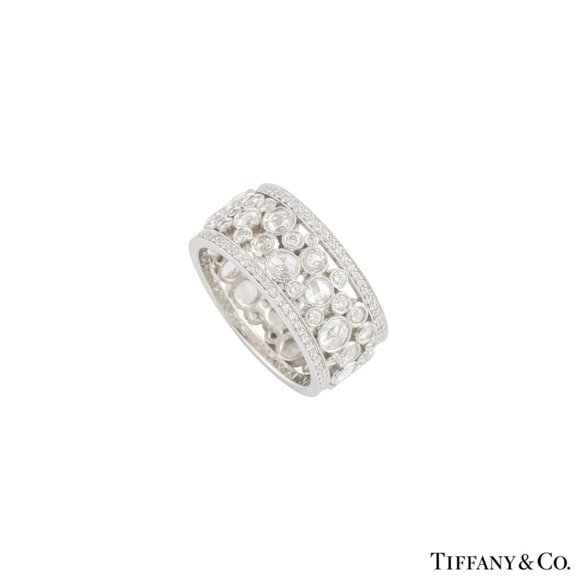 Tiffany & Co. Cobblestone Diamond Band Ring